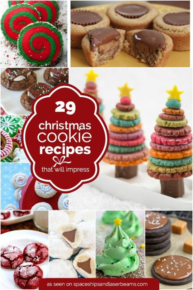 Easy Christmas Baking Ideas  29 Easy Christmas Cookie Recipe Ideas & Easy Decorations