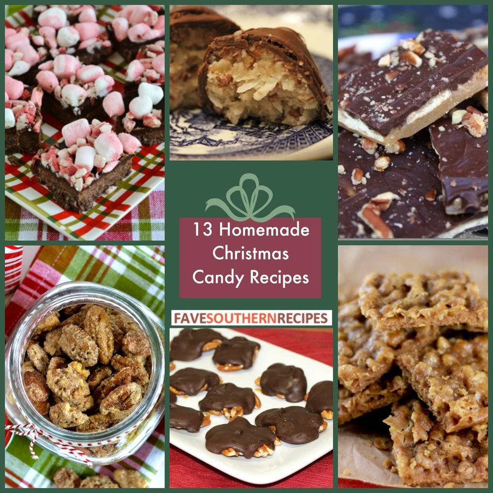 Easy Christmas Candy Recipes  13 Homemade Christmas Candy Recipes