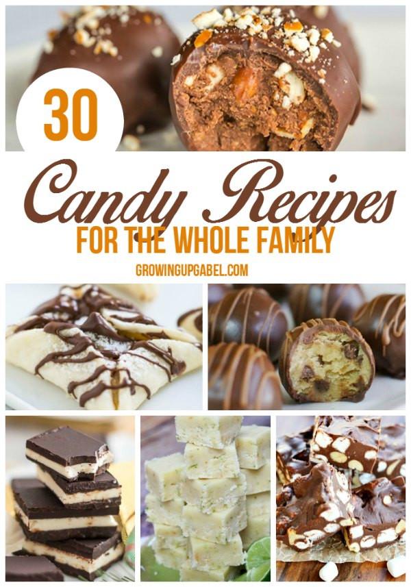 Easy Christmas Candy Recipes  30 Recipes for Homemade Candy