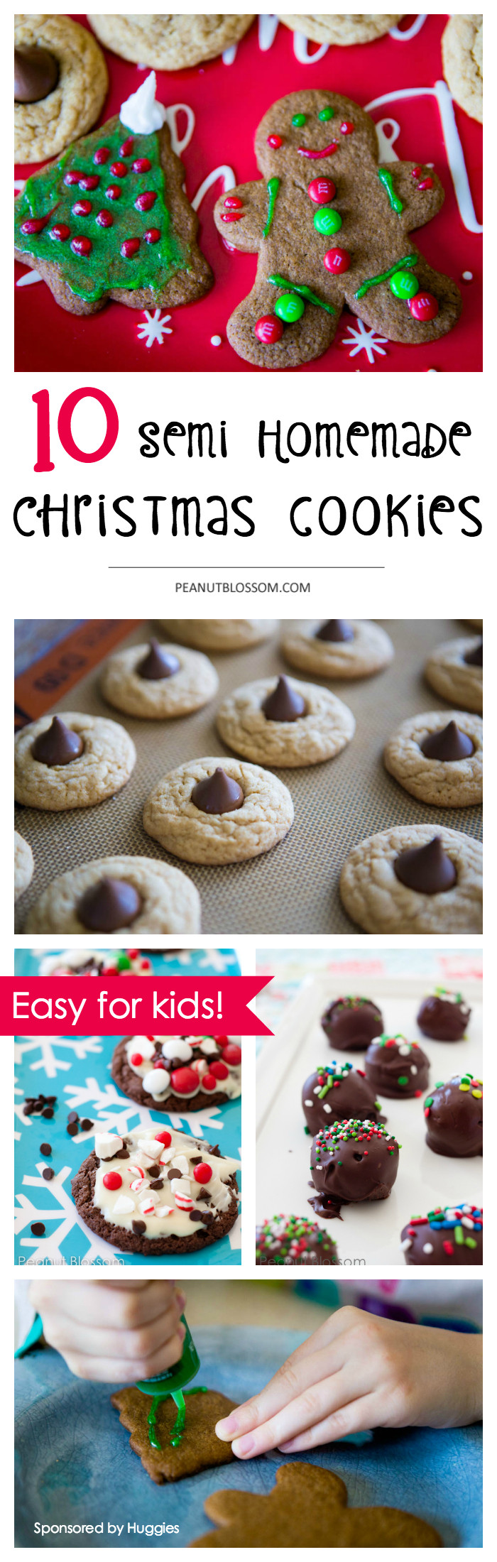 Easy Christmas Cookies For Kids  10 semi homemade Christmas cookies that will save your sanity