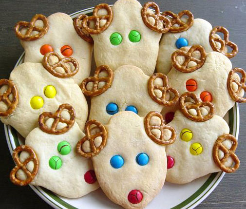 Easy Christmas Cookies For Kids  Christmas Craft Ideas for Toddlers
