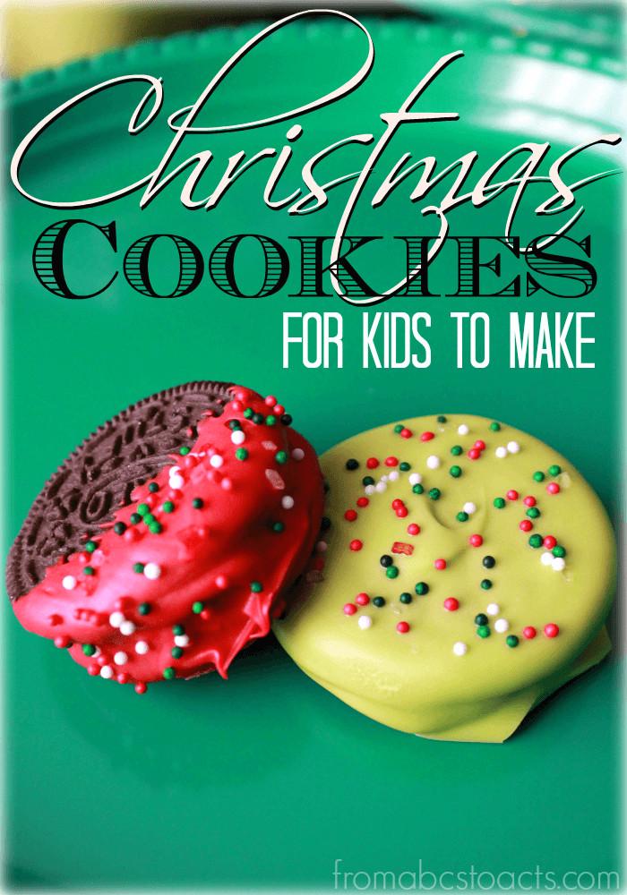 Easy Christmas Cookies For Kids  Simple Christmas Cookies for Kids