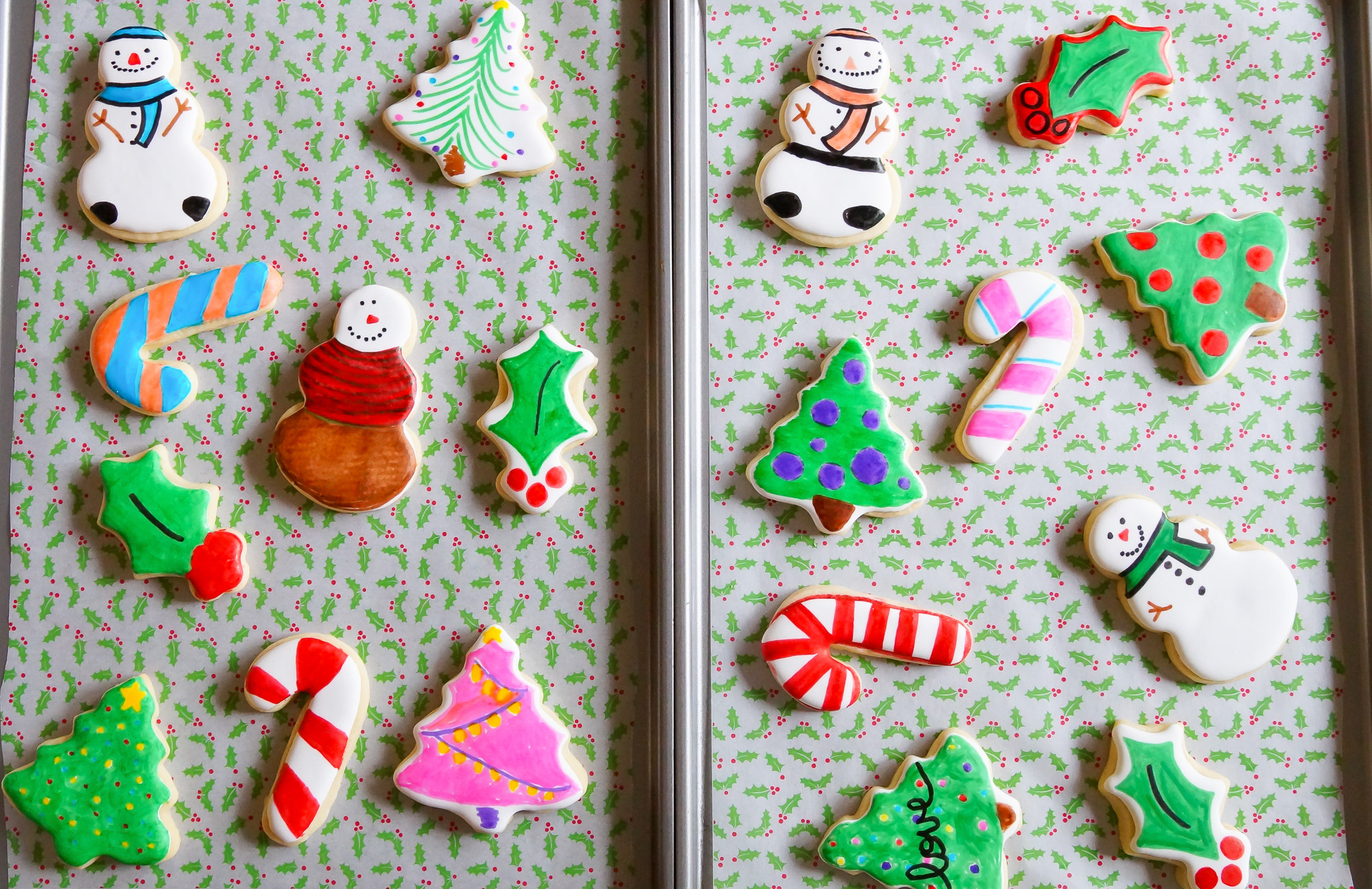 Easy Christmas Cookies For Kids  Easy Cookie Decorating with Kids