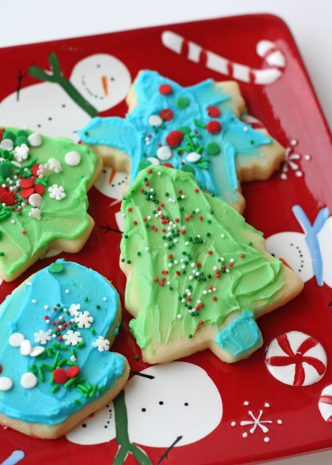 Easy Christmas Cookies For Kids  Cookie Decorating Kits for Kids and Easy Butter Frosting
