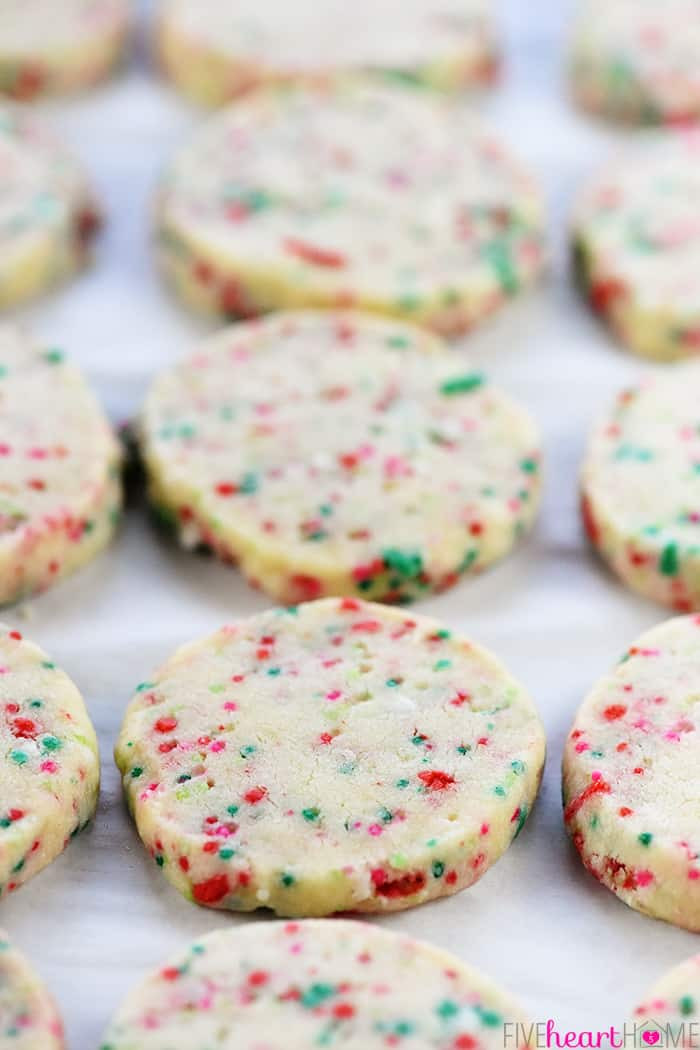 Easy Christmas Cookies Recipes  Easy Christmas Shortbread Cookies • FIVEheartHOME