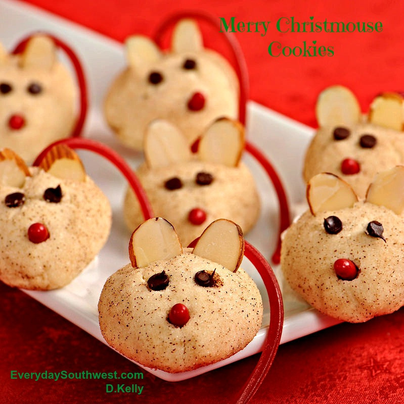 Easy Christmas Cookies Recipes  Merry Christmouse Cookie Easy Christmas Cookie Everyday