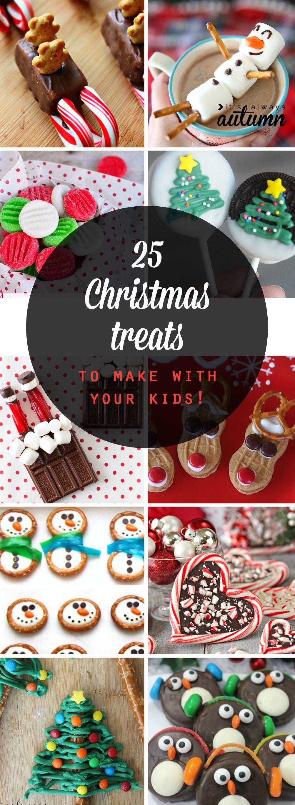 Easy Christmas Cookies To Make With Kids  25 adorable Christmas treats to make with your kids