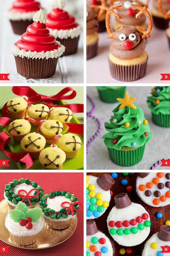 Easy Christmas Cupcakes  Easy Christmas cupcakes that anyone can make