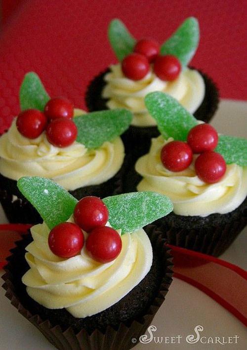 Easy Christmas Cupcakes  30 Easy Christmas Cupcake Ideas