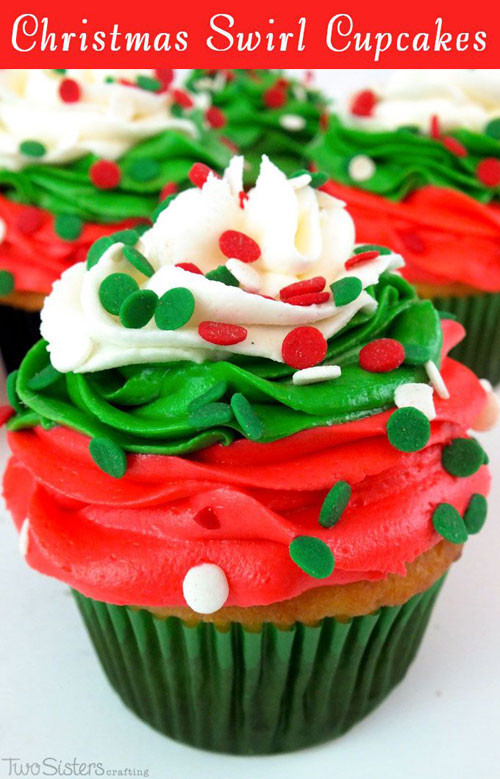 Easy Christmas Cupcakes Recipe  30 Easy Christmas Cupcake Ideas