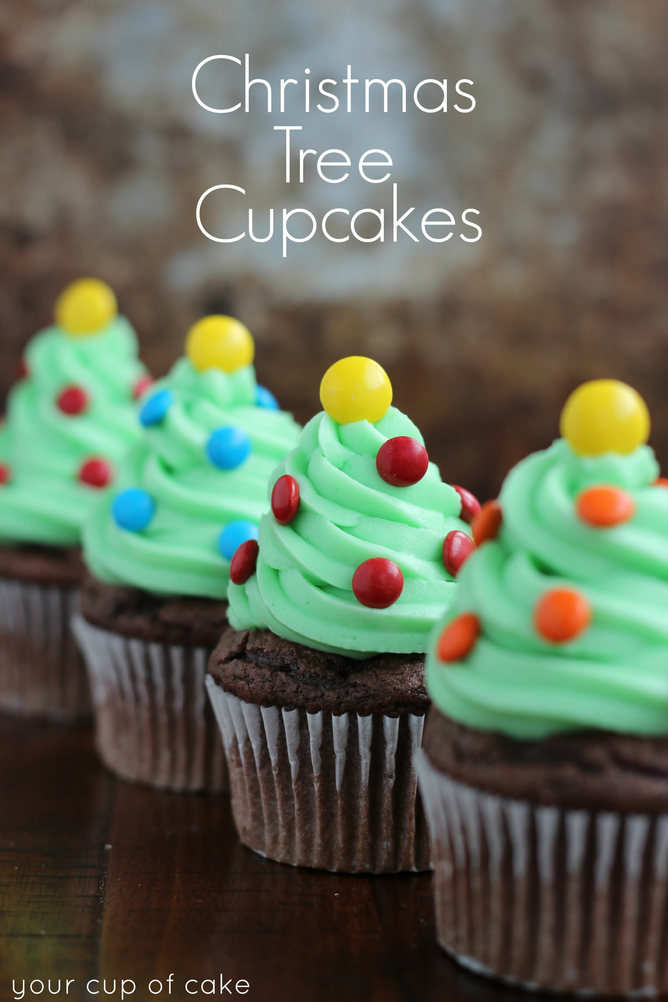 Easy Christmas Cupcakes Recipe  Easy Cupcake Decorating for Christmas Your Cup of Cake