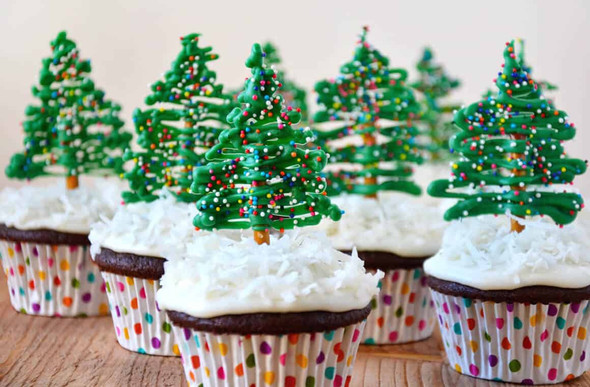 Easy Christmas Cupcakes Recipe  Just a Taste