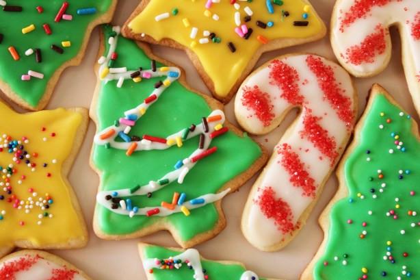 Easy Christmas Cut Out Cookies  Easy Sugar Cookie Recipe Food