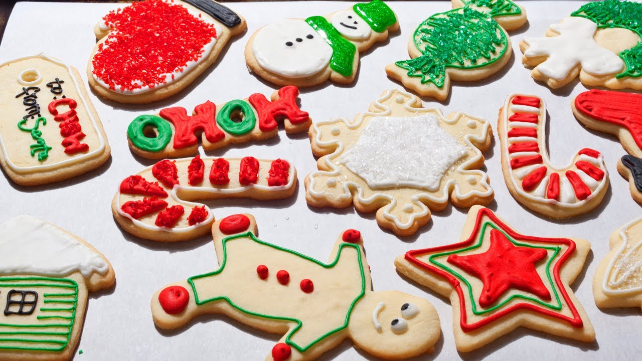 Easy Christmas Cut Out Cookies  How to Make Easy Christmas Sugar Cookies The Easiest Way