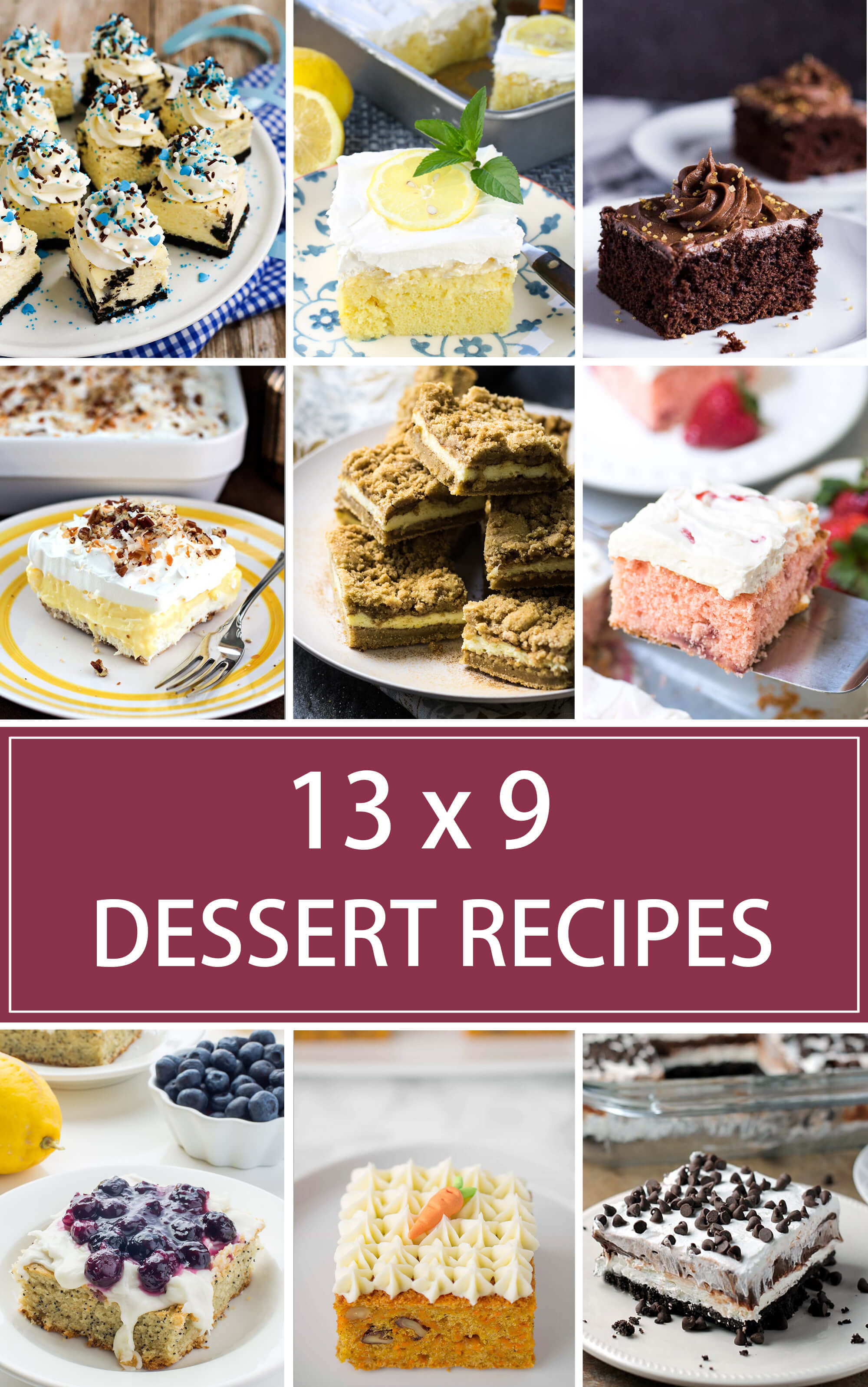 Easy Christmas Desserts For A Crowd  13 x 9 Dessert Recipes for a Crowd Valerie s Kitchen