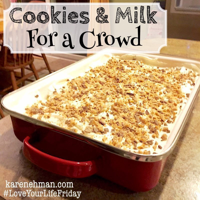 Easy Christmas Desserts For A Crowd  The Easiest & Most Delicious Dessert EVER — Karen Ehman