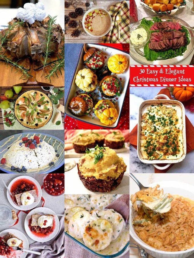 Easy Christmas Dinner Menu  30 Elegant Christmas Dinner Menu Ideas