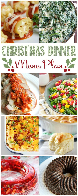 Easy Christmas Dinner Menu  Christmas Dinner Menu Plan Cooking With Curls