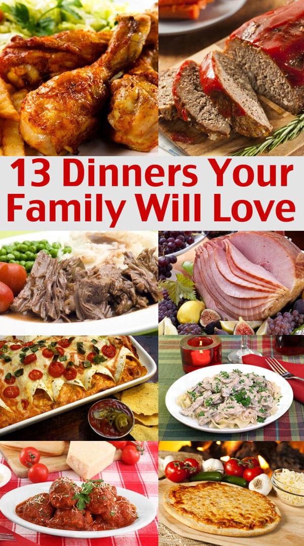 Easy Christmas Dinner Menu  Easy Family Menu Ideas Dinners Your Family Will Love