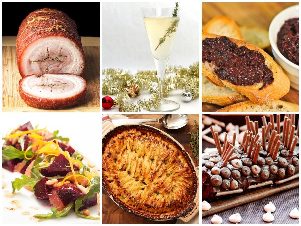Easy Christmas Dinners For A Crowd  Serious Entertaining Christmas Dinner to Feed a Crowd