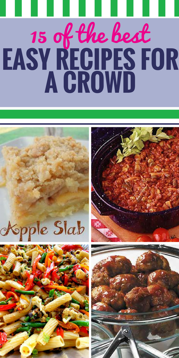 Easy Christmas Dinners For A Crowd  15 Easy Recipes for a Crowd My Life and Kids