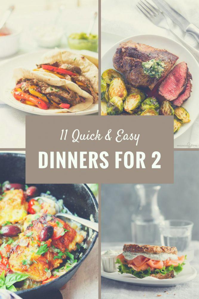 Easy Christmas Dinners For Two  Best 25 Dinner for two ideas on Pinterest
