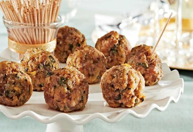 Easy Christmas Eve Appetizers  Mini Sausage Balls Recipe Hoosier Homemade