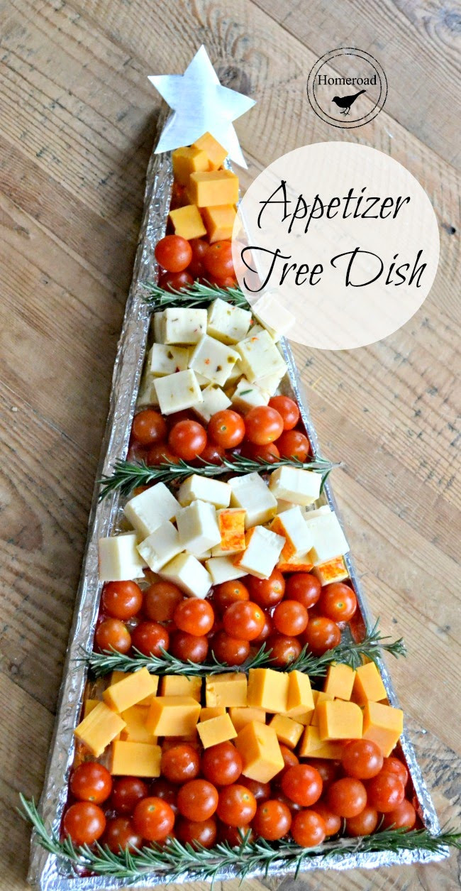 Easy Christmas Eve Appetizers  Christmas Appetizer Tree DIY Tray