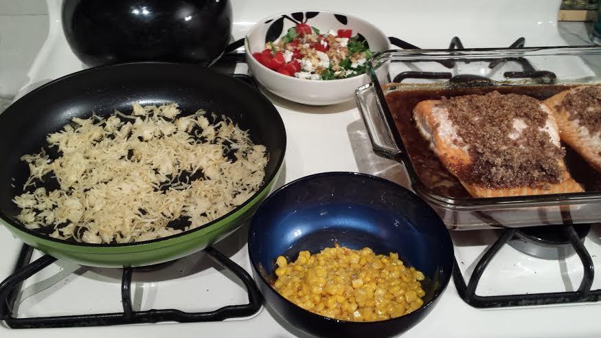 Easy Christmas Eve Dinner  Ozeri Green Earth Ceramic Pan Review The Big Apple Mama