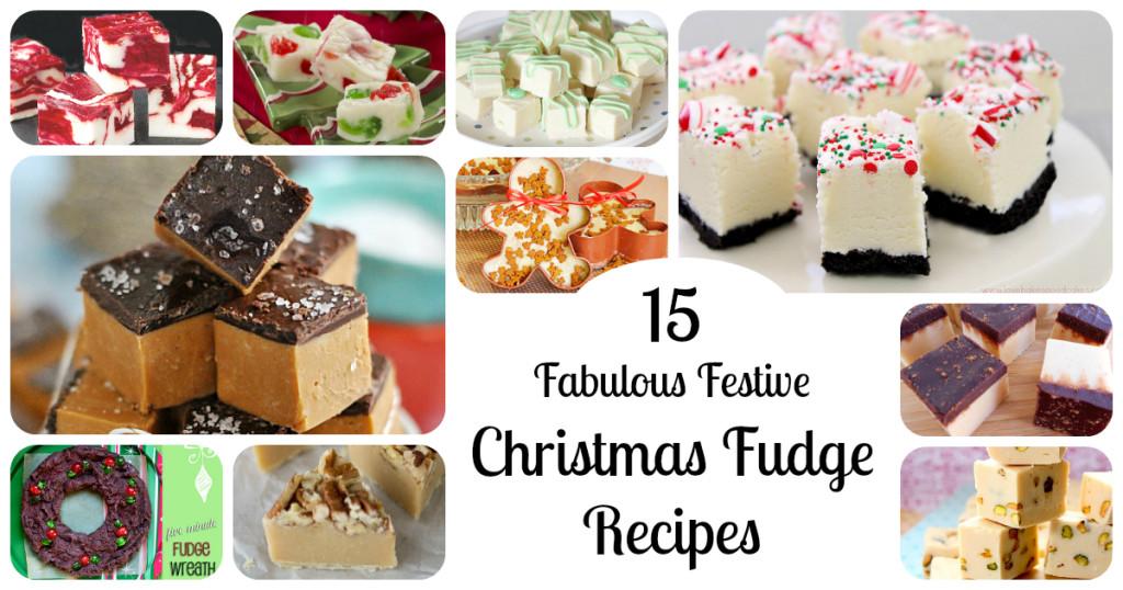 Easy Christmas Fudge Recipe  Christmas Fudge 15 Festive Holiday Fudge RecipesLetters
