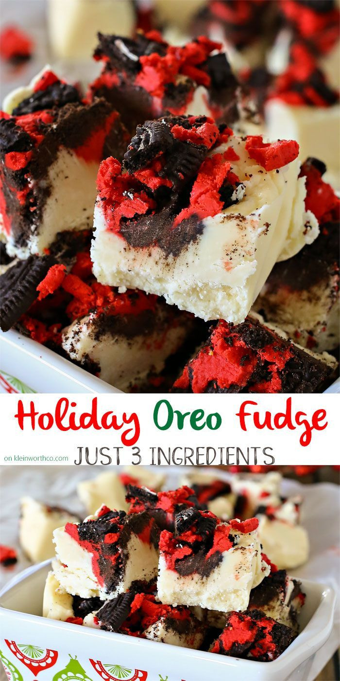Easy Christmas Fudge Recipe  17 Best images about Christmas Desserts on Pinterest