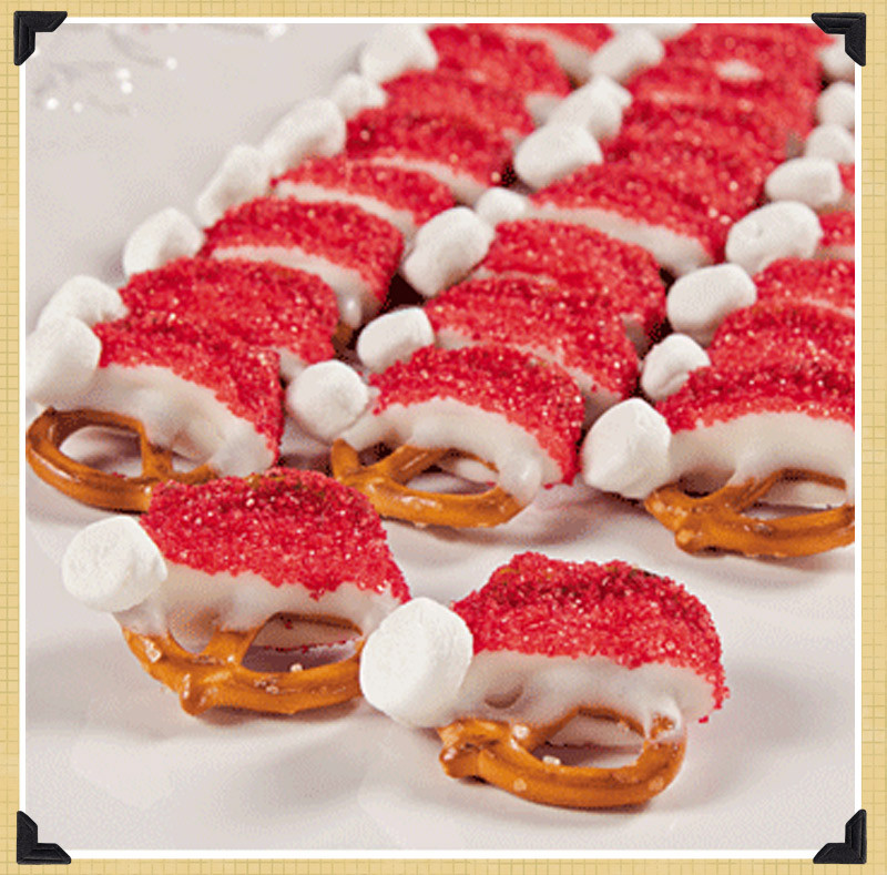 Easy Christmas Party Desserts  spotted & hearted Pinterest holiday recipes The