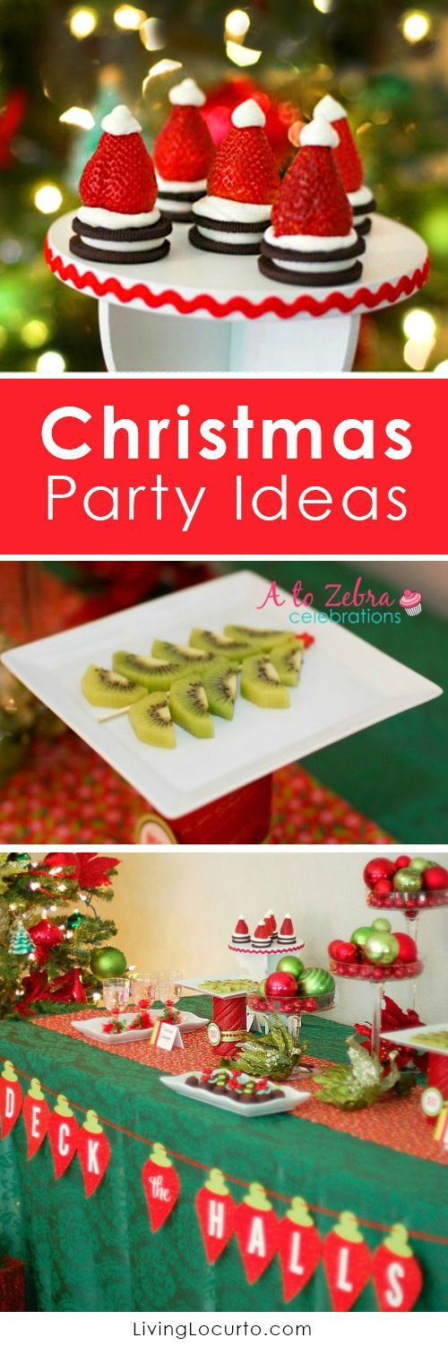 Easy Christmas Party Desserts  Christmas parties Christmas trees and Holiday parties on
