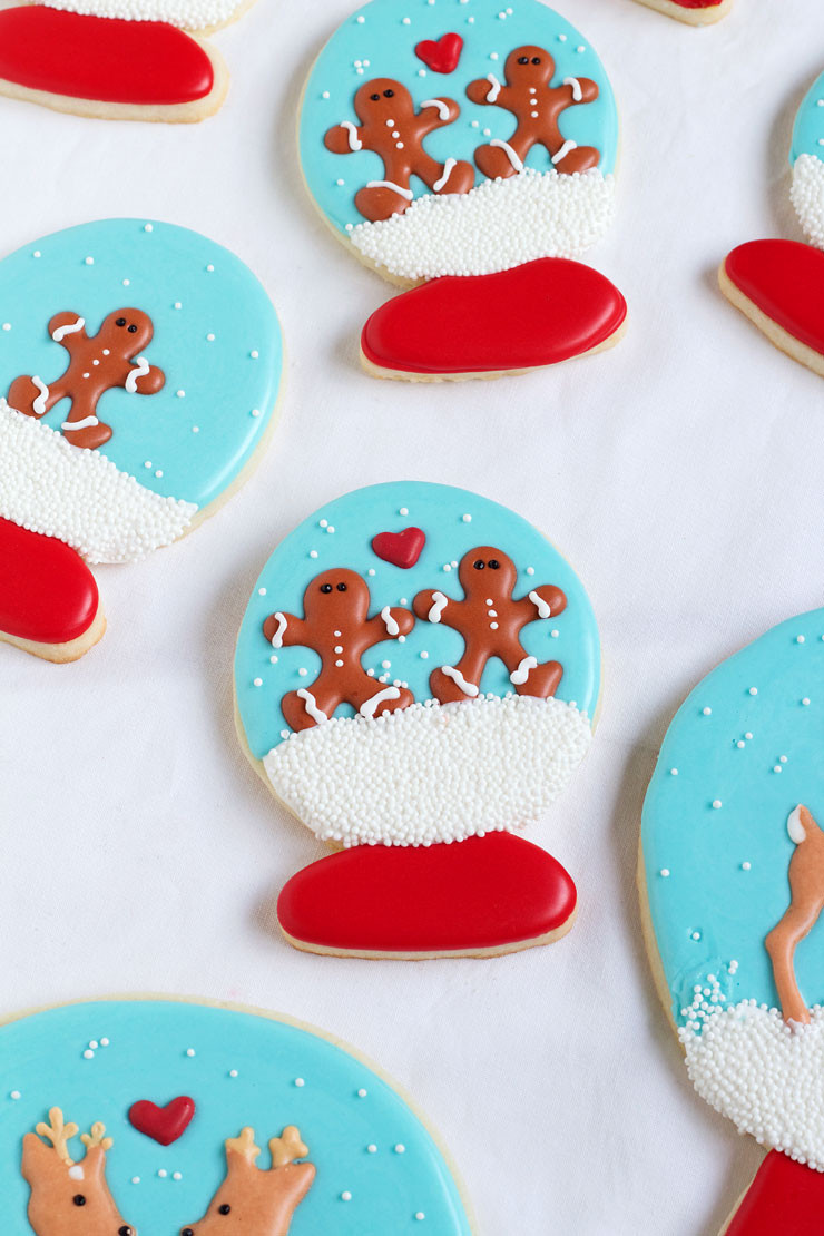 Easy Christmas Sugar Cookies  Easy Christmas Royal Icing Transfers