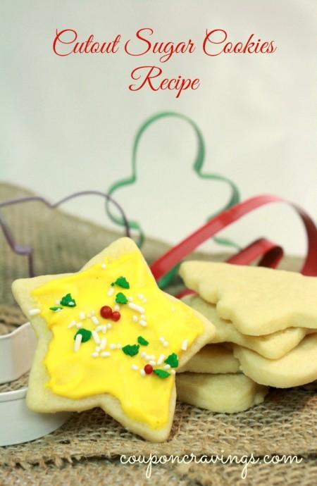 Easy Christmas Sugar Cookies Recipes  Christmas Cookies Recipes Easy Cutout Christmas Cookies