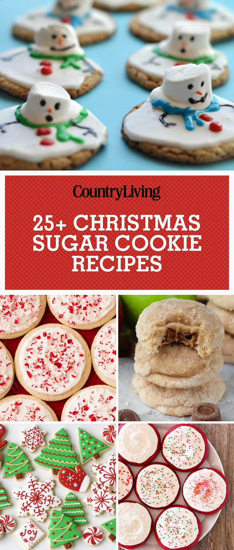 Easy Christmas Sugar Cookies Recipes  25 Easy Christmas Sugar Cookies Recipes & Decorating