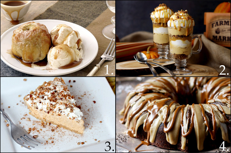 Easy Fall Desserts  Fall Dinner Party Ideas