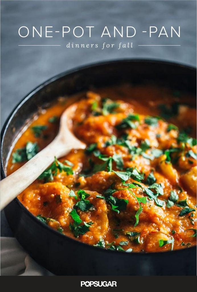 Easy Fall Dinner Recipe  e Pot Fall Dinner Recipes