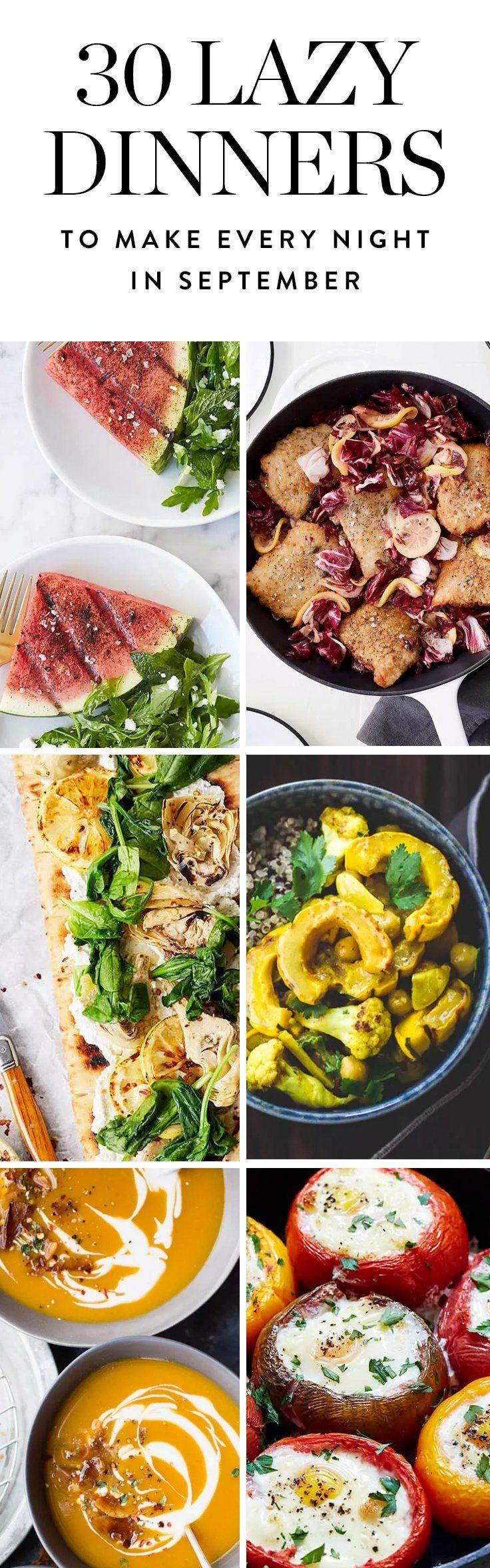 Easy Fall Dinner Recipes  Best 25 Fall dinner recipes ideas on Pinterest