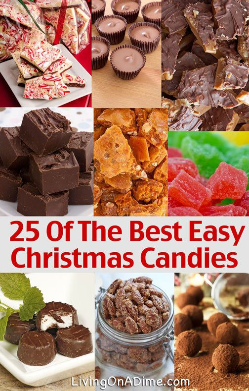 Easy Homemade Christmas Candy  25 Easy Candy Recipes Perfect For The Holidays