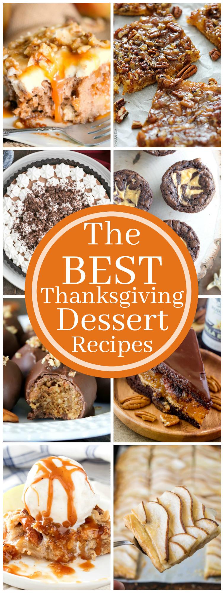Easy Thanksgiving Desserts Pinterest  Best Thanksgiving Dessert Recipes Kleinworth & Co