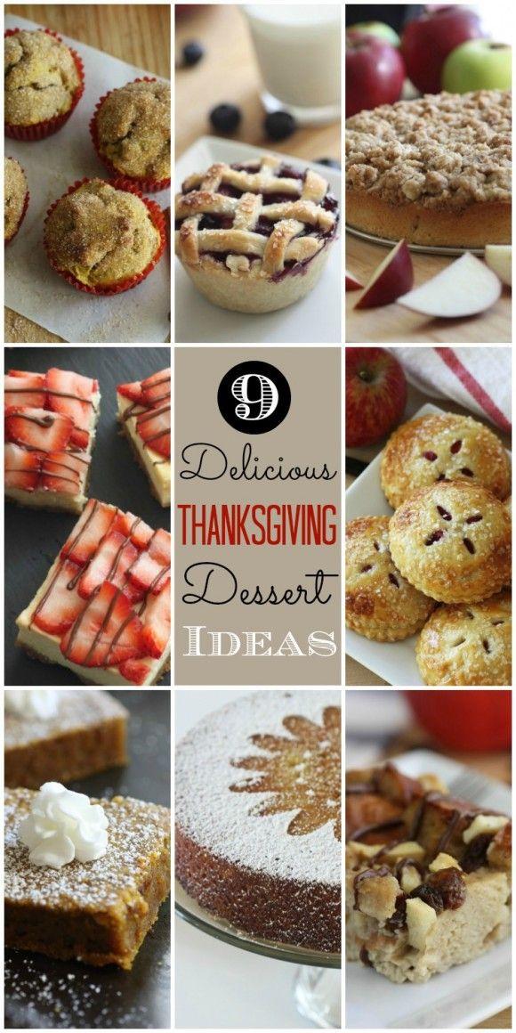 Easy Thanksgiving Desserts Pinterest  209 best Thanksgiving Desserts images on Pinterest
