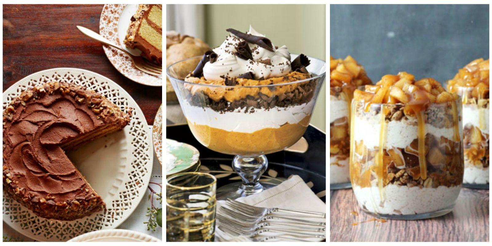 Easy Thanksgiving Desserts Pinterest  40 Easy Thanksgiving Desserts Recipes Best Ideas for
