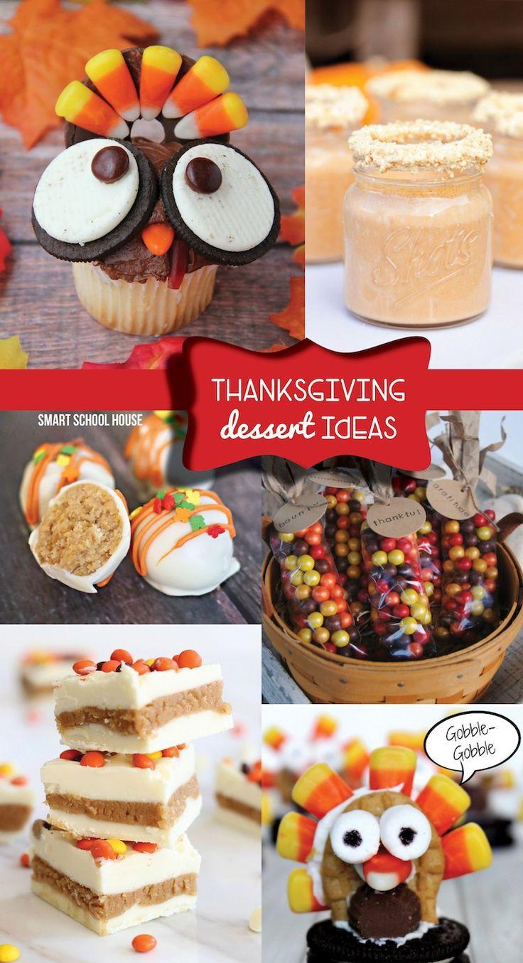 Easy Thanksgiving Desserts Pinterest  Thanksgiving Dessert Ideas Best of Pinterest