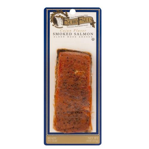 Echo Falls Smoked Salmon  ECHO FALLS CAJUN FLAVOR SMOKED SALMON 4oz
