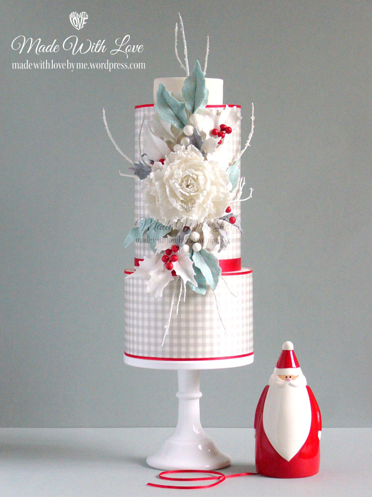 Elegant Christmas Cakes  Made With Love by me