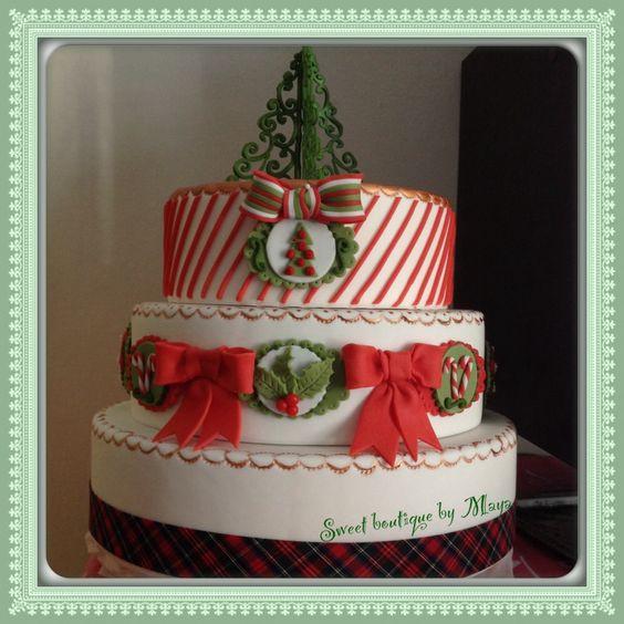 Elegant Christmas Cakes  Elegant cakes Elegant christmas and Christmas cakes on
