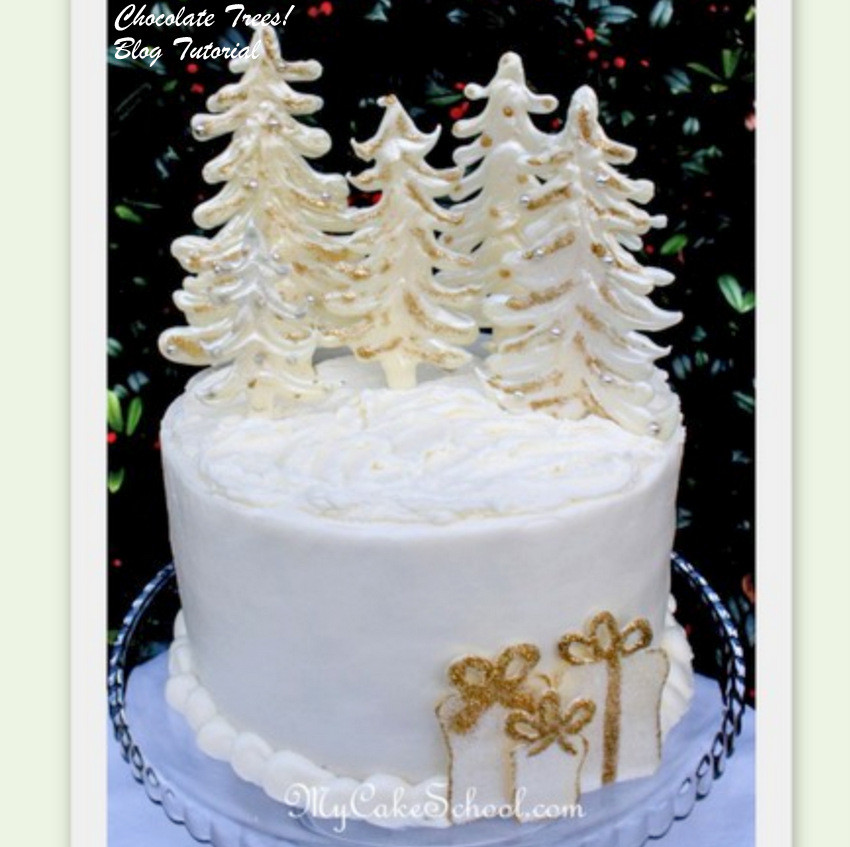 Elegant Christmas Cakes  MyCakeSchool Blog