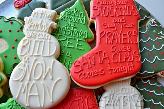 Elegant Christmas Cookies  Easy Elegant Christmas Cookies