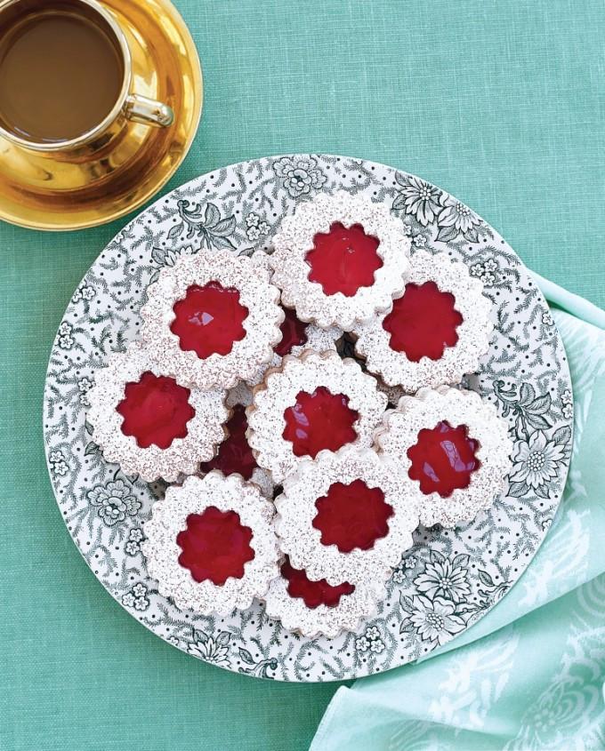 Elegant Christmas Cookies  Wreath Cookies Wreath Cookie Recipe